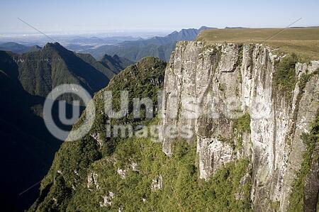 The Montenegro Canyon in Rio Grande do Sul - Brazil.