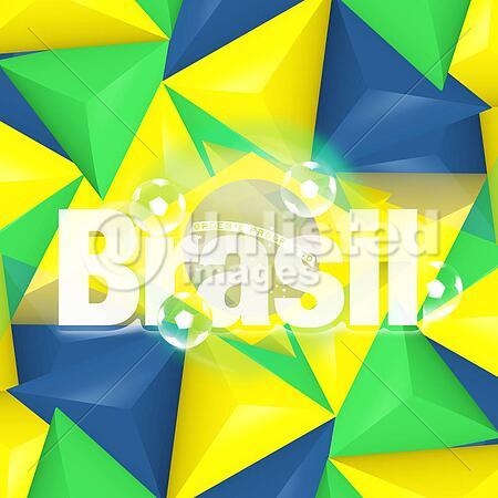 Creative 2014 Colored Soccer Symbol Design