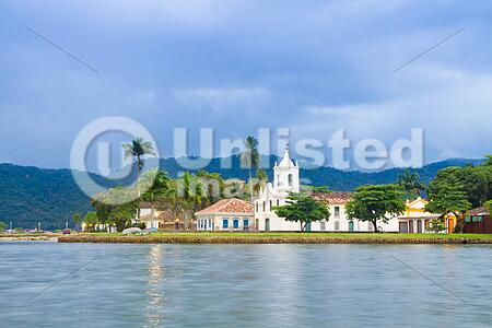 Paraty (or Parati) is a preserved Portuguese colonial (1500–1822) and Brazilian Imperial (1822–1889) town. It is located on the Costa Verde (Green Coast), a lush, green coast that runs along the coastline of the state of Rio de Janeiro, in Brazil, south A