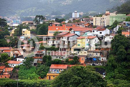 Mairinque city near Sao Roque in Brazil