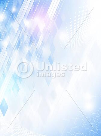 business background with abstract technology lines and dots