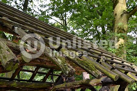 old wooden construction stock photos