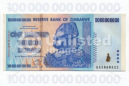 One Hundred Trillion Dollar Banknote