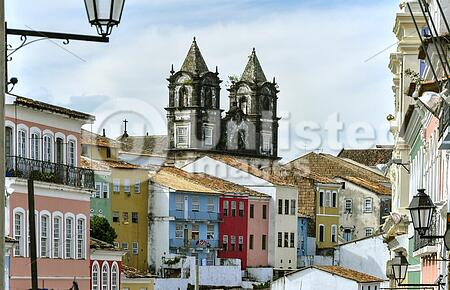 Pelourinho, district in Salvador de Bahia (Brazil)