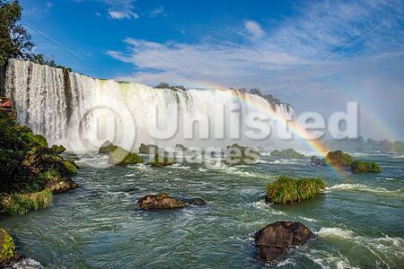 The Majestic Iguazu Falls, A Wonder Of The World